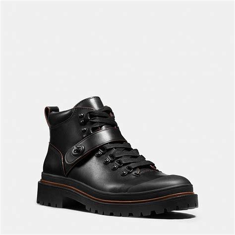 mens hiker boots coach mens boots cedar hiker boot