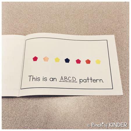 kindergarten reading pattern books teaching patterning in fdk part 2 a pinch of kinder