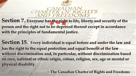 section one of the charter opinions on section 16 1 of the canadian charter of rights