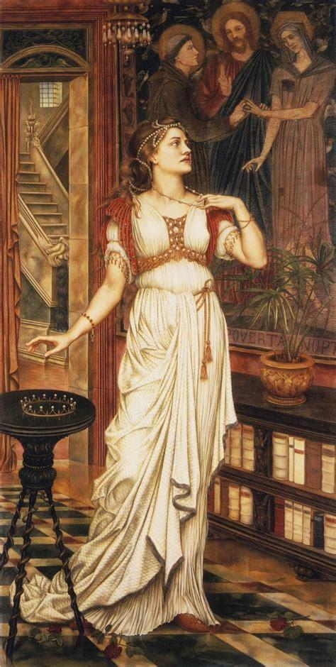 Free images of pre-raphaelite paintings of women