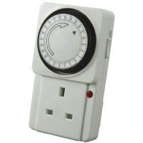 timer light switch amazon timer plug switch 24 hour with indicator light amazon co