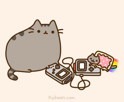 laughing squid tumblr — pusheen & nyan cat