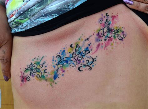 imagenes mariposas tattoos mariposas con firuletes en acuarelas by javi wolf tattoo