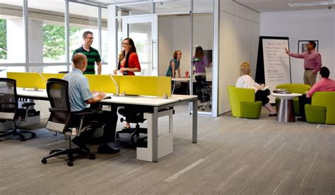 the importance of creating an open plan desking and