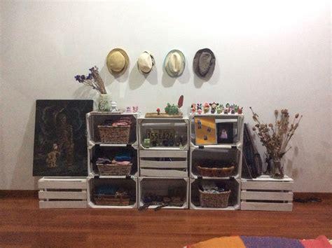 como decorar mi cuarto con huacales huacales huacales pinterest muebles reciclados