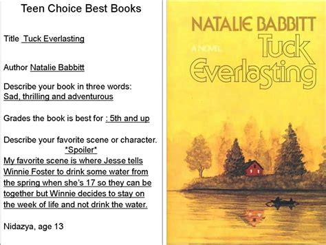 the everlasting books quotes from tuck everlasting book quotesgram