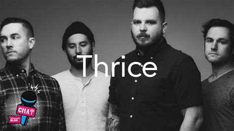 thrice interview interview watch our chat with thrice ticketmaster uk blog