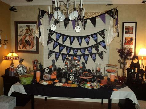 nightmare before christmas birthday party ideas photo 8