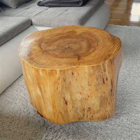 Holzstamm Als Tisch by Holzstamm Couchtisch Deutsche Dekor 2017 Kaufen