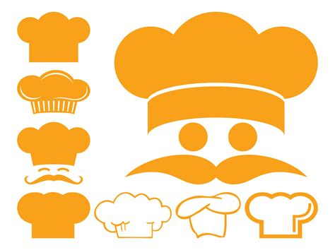 Kitchen Design App by Chef Hat Icons Vector Art Amp Graphics Freevector Com
