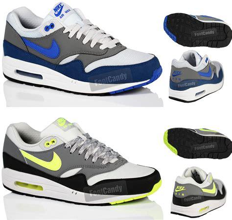 Sepatu Sport Casual Running Terbaru Nike Air Max 90 1 mens nike air max 1 one casual retro running sports lightweight trainers size ebay