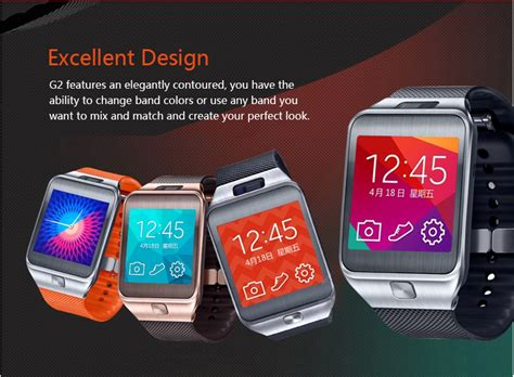No 1 G2 no 1 g2 is a galaxy gear clone from china priced at just
