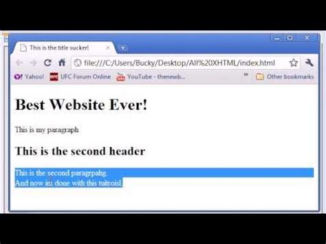 tutorial xhtml css xhtml and css tutorial 4 paragraphs and line breaks