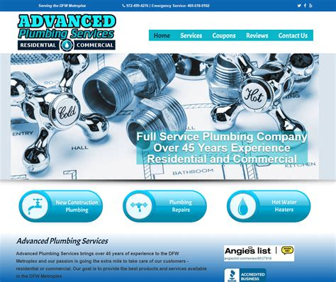 Advanced Plumbing Systems by Gilbert Painting Construction Service Lewisville
