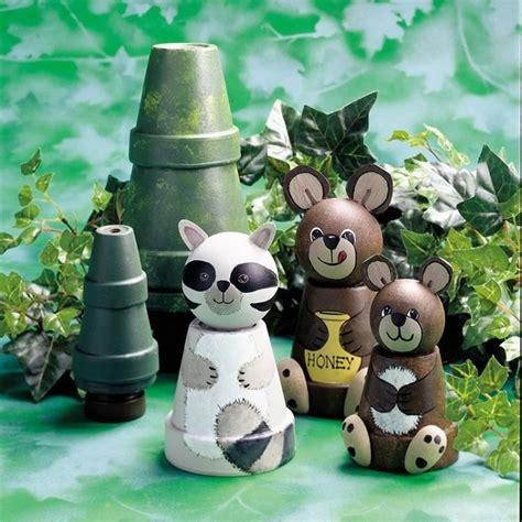Gartendeko Tiere by Gartendeko Tontopfen Selber Machen Waldtiere