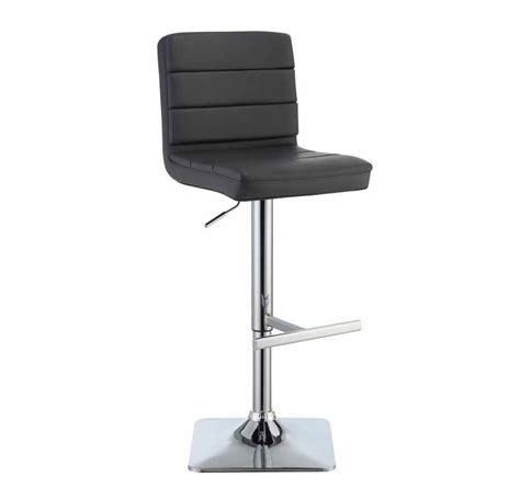 modern bar stools counter height black modern bar stool co 695 bar stools