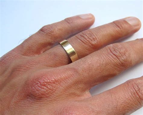 Wedding Bands Thick by S Thick Gold Band Wedding Ring S Artist Quarter