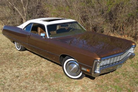 1971 Chrysler Imperial by 1971 Chrysler Imperial Lebaron 2dr Coupe Quot Survivor Quot Only