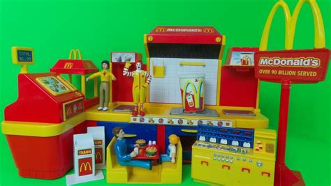 Set Mc mcdonald s electronic fast food center play set
