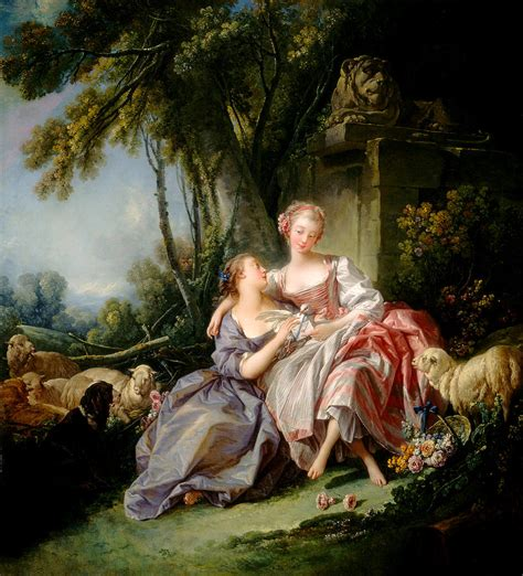 Marie Antoinette Home Decor by The Love Letter Painting By Francois Boucher