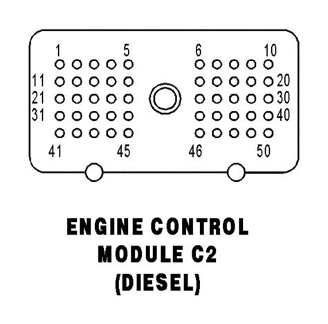 03 dodge cummins ecm pin layout diagram color code of