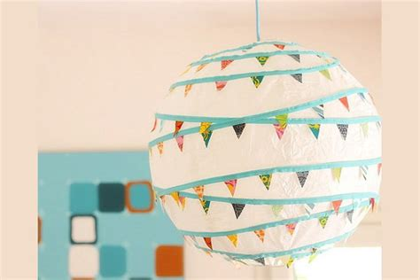 Craft Paper L Shades - l decor for a room ideas crafts