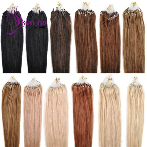 remy hair micro loop extensions 1g strand micro ring loop hair extensions