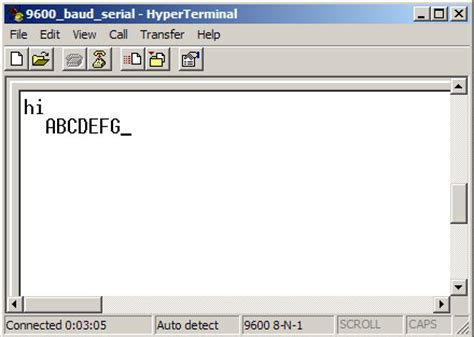 windows terminal program serial free microcontroller by rs 232