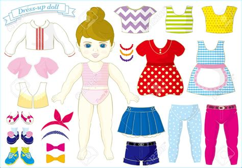 up doll images dall clipart dress up pencil and in color dall clipart