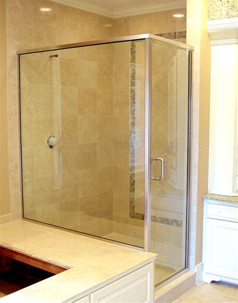 Semi Frameless Shower Doors by And Semi Framed Glass Shower Doors Boston Ma