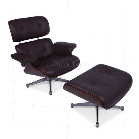 eames lounge chair and ottoman eames style lounge chair and ottoman brown leather cherry