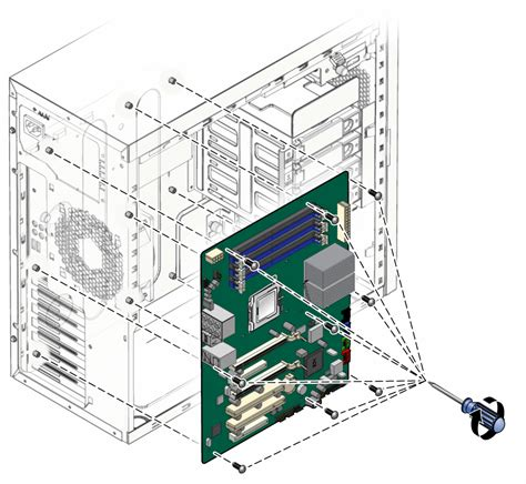 replacing  motherboard sun ultra  workstation