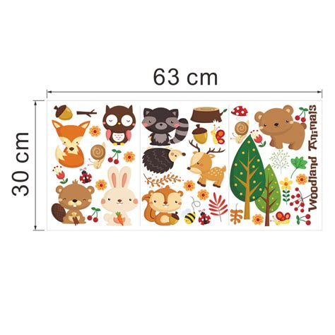 removable wall stickers ebay removable animals vinyl wall stickers mural home decor