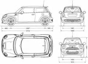 Mini Cooper Size The Blueprints Blueprints Gt Cars Gt Mini Gt Mini