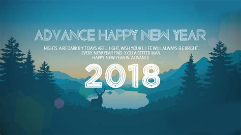advance happy new year 2018 images sms wishes