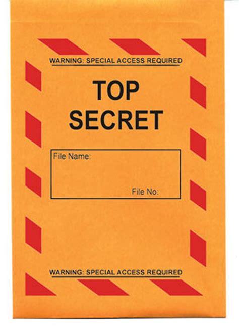 best secret top secret envelope 5 pack