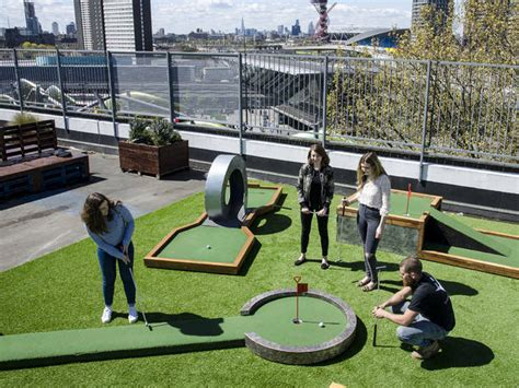 swing lessons london crazy golf london courses and pop ups mini golf london