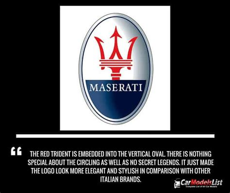 Maserati Logo Meaning by All Maserati Models List Of Maserati Car Models