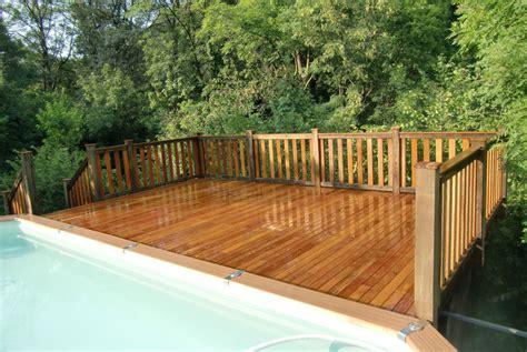 terrazze in legno da esterno pavimento per esterni in angelim amargoso d 233 co decking