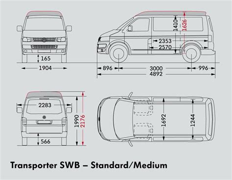 volkswagen caravelle dimensions volkswagen transporter swb van trucks on road trucks 75kw