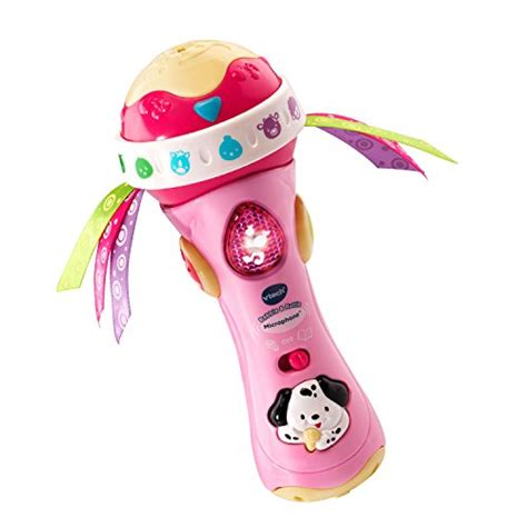 vtech baby rattle and sing puppy vtech baby babble and rattle microphone pink exclusive sales up 4