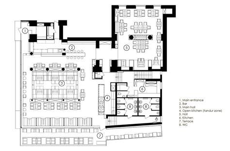 fine dining restaurant floor plan restaurant quot odessa quot yod design lab archdaily
