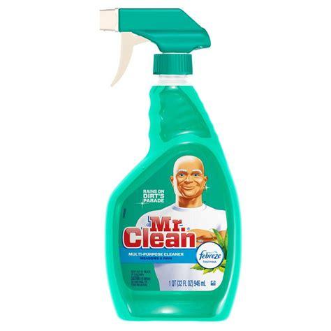 Multi Purpose Cleaner mr clean 32 oz multi purpose cleaner with febreze