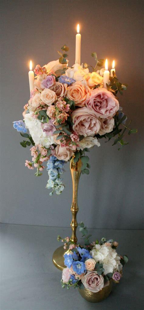 candelabra wedding centerpieces with flowers best 25 candelabra flowers ideas on pinterest wedding