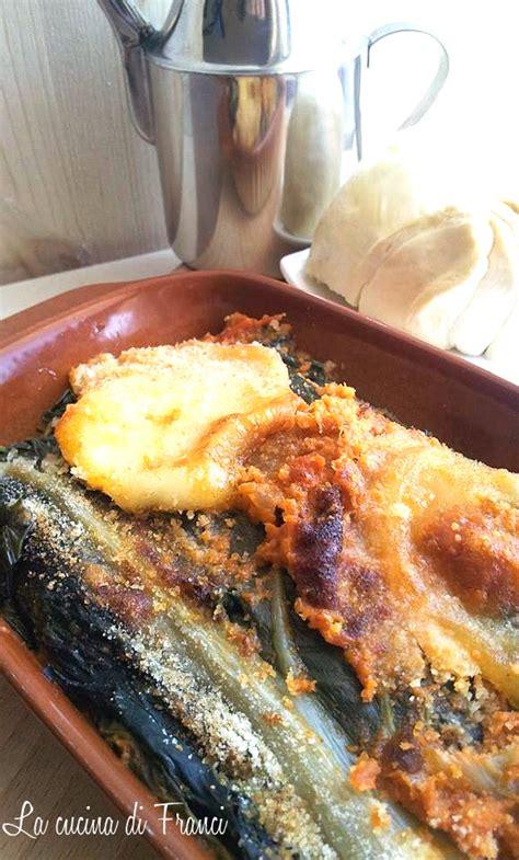 cucinare le coste di bieta coste di bieta gratinate provola pomodoro