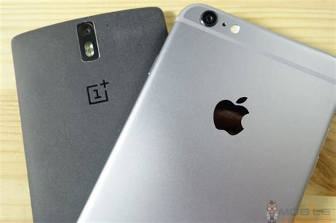 one plus mobil apple iphone 6 plus vs oneplus one comparison