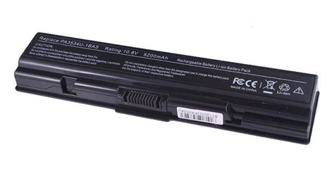Li Max L200 bateria do laptopa toshiba a200 a300 l200 pa3534 5200 mah