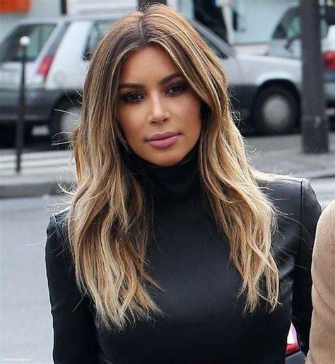 kim kardashian hair color highlights danny jelaca s new balayage color expert
