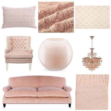 Blush Pink Decor | decorating with blush pink