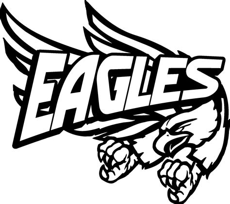the eagles band logo clipart